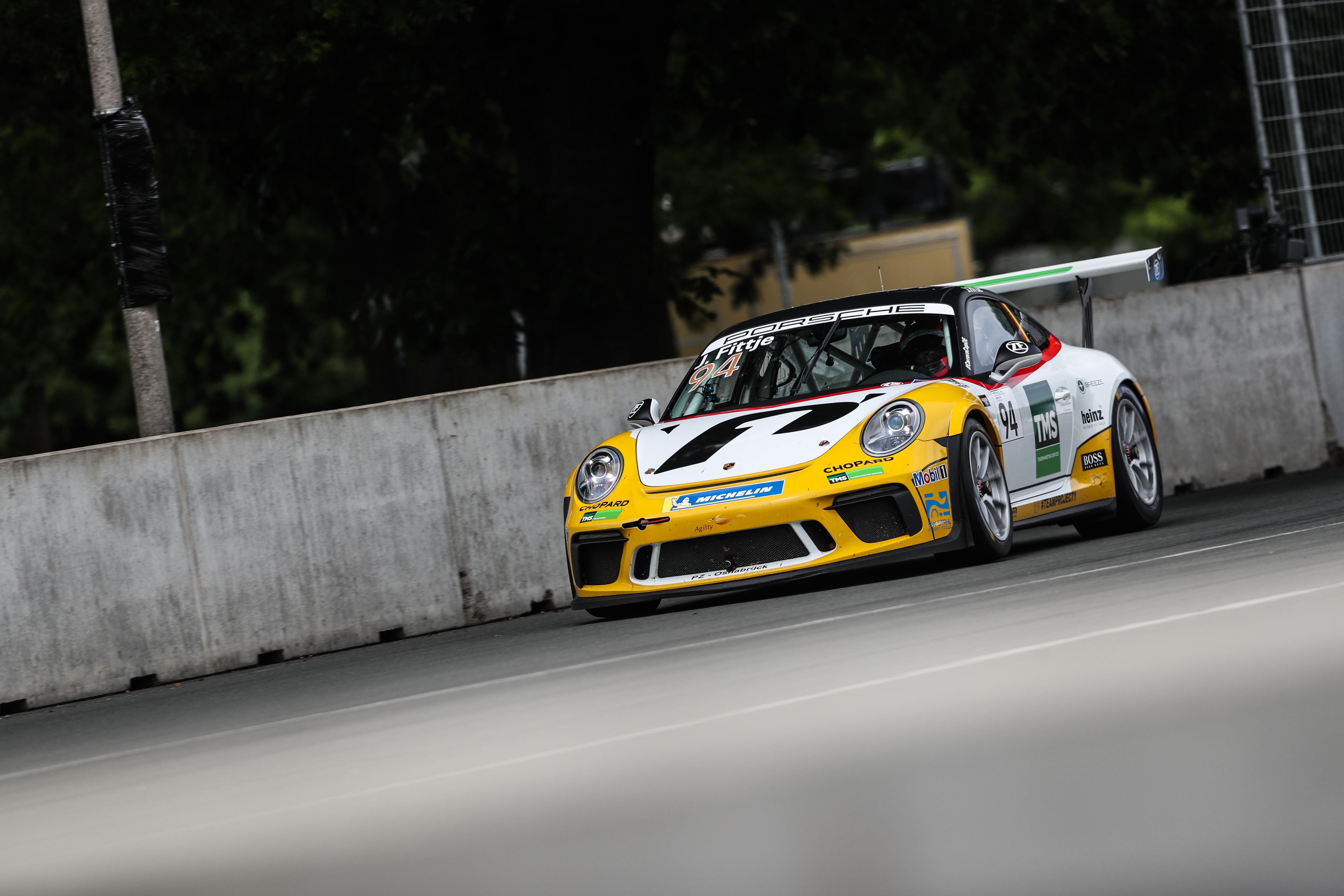 Porsche Carrera Cup Deutschland, 7. + 8. Lauf Norisring 2019 - Foto: Gruppe C Photography; #94 Porsche 911 GT3 Cup, Team Project 1 - JBR: Jannes Fittje