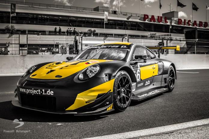JBR tritt mit Project 1 im Porsche Carrera Cup an